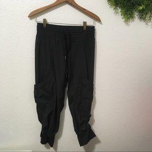 Lululemon Dance Studio Cropped Pants in Black
